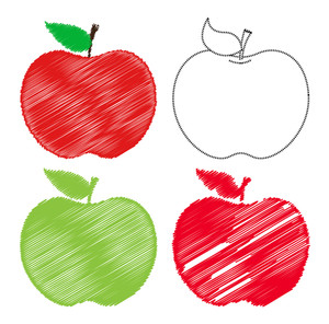 Apples Drawings