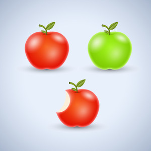 Apples Vector Set