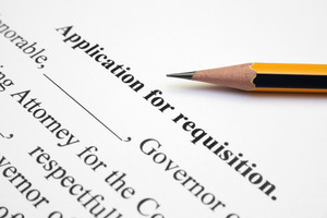 Application For Requisition