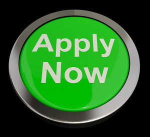 Apply Now Button In Green For Work Application