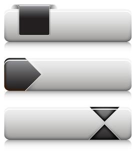 Aqua Buttons Vectors