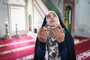 Arabic Muslim young woman