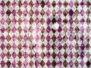 Argyle Grunge Background