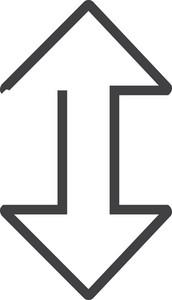 Arrow 11 Minimal Icon
