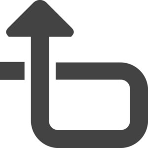 Arrow 12 Glyph Icon