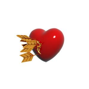 Arrows 3d Heart
