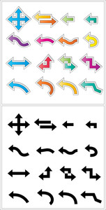 Arrows Shapes Vectors