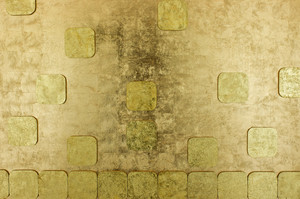 art golden mosaic background