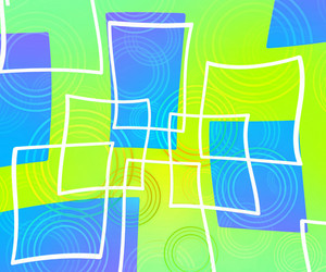 Art Green Abstract Background