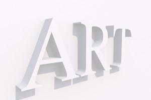 Art Word 3d White