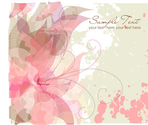 Artistic Flower Background-