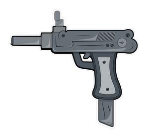Artistic Gun Vector Object