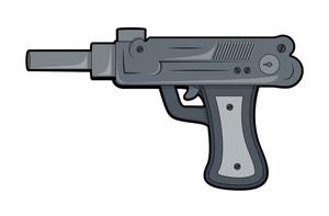 Artistic Gun Vector