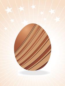 Artistic Line Easter Egg For Easter Day