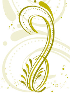 Artistic Pattern Floral Tattoo