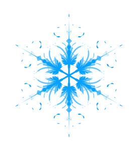 Artistic Snowflake