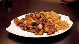 Asian Shrimp In Black Bean Sauce