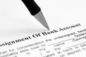 Assignment Of Bank Account