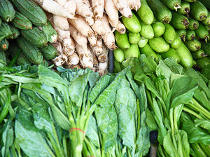 Assortment Of Green Vegetables