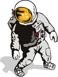Astronaut Retro
