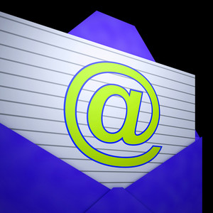 At Envelope Shows Online Mailing Inbox Support
