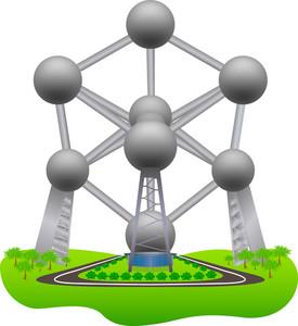 Atomium Sculpture