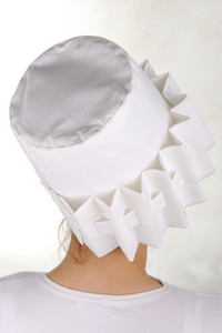 Attractive design of female fashionable hat