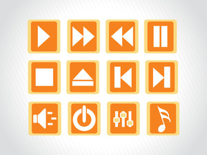 Audio Button Icons