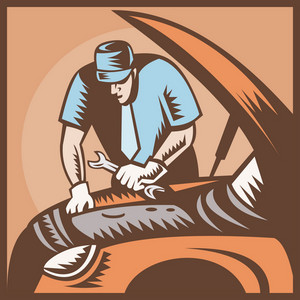 Automobile Mechanic Car Repair