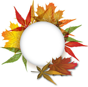Autumn Vector Element