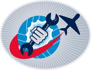 Aviation Aircraft Mechanic Hand Spanner