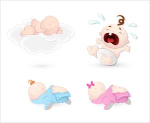 Babies Vectors