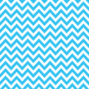Baby Birthday Pattern Of Blue Chevrons