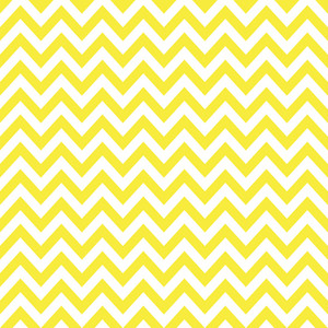 Baby Birthday Pattern Of Yellow Chevrons