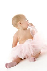Baby in tutu