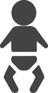 Baby Glyph Icon