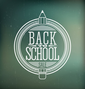 Back To School Calligraphic Designs | Retro Style Elements | Vintage Ornaments