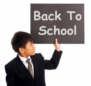 Back To School Sign As Education Symbol