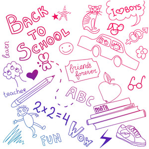 Back To School Sketch-
