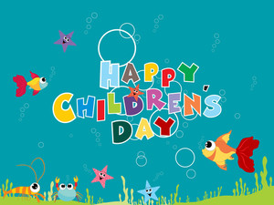 Background For Children Day