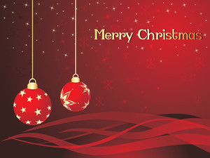 Background For Christmas Day Celebration