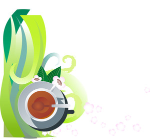 Background For Design - Green Tea