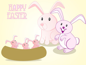 Background For Easter Day Celebration