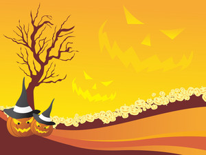 Background For Halloween Celebration