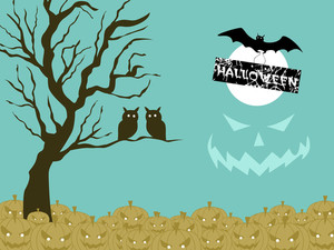 Background For Happy Halloween