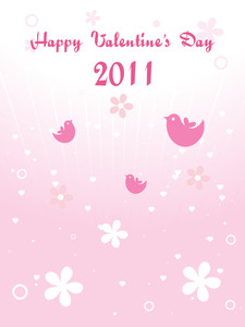 Background For Happy Valentine Day