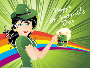 Background For Patrick Day