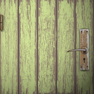 Background Of Old Wooden Door