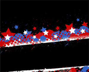 Background Us 4th Of July Independence Day Vector Design