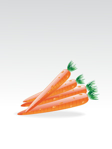 Background With Carrot